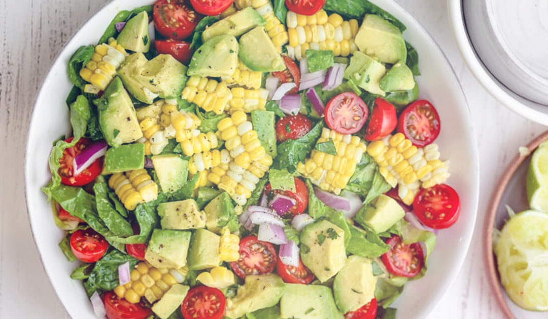 Healthy Summer Recipe: Corn & Avocado Salad