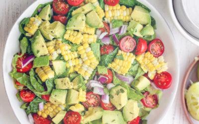 Healthy Summer Recipe: Corn & Avocado Salad