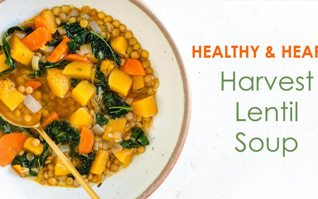 Warming Harvest Lentil Soup